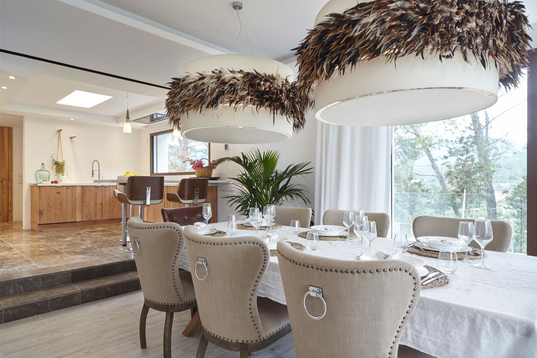Newly furnished and beautifully designed villa nea Cala Jondal