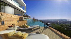 Lovely urban plots of 500m2 each located on the hill top with best views