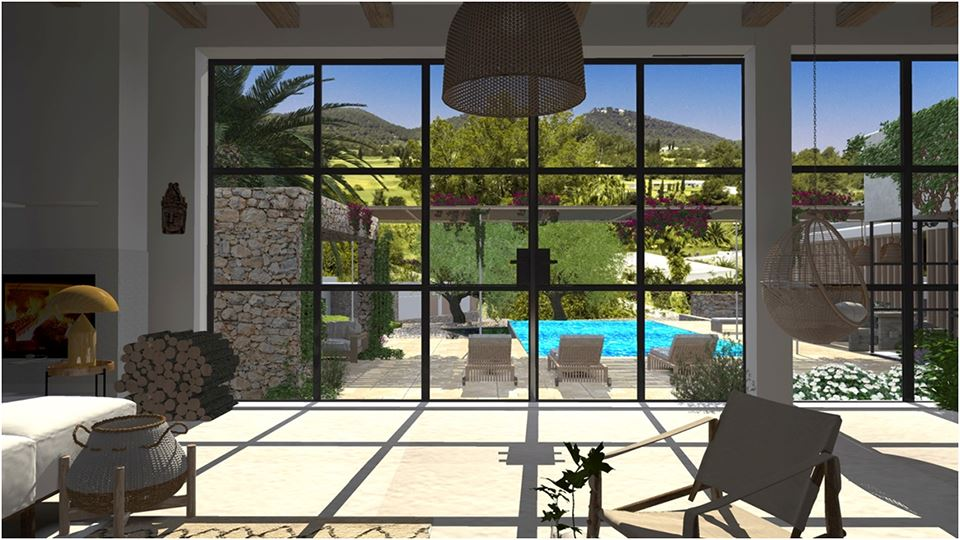 Project of a exclusive house with pool in Roca Llisa