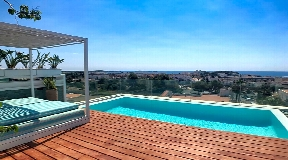 Nice modern 5 bedroom house for sale in Santa Eularia with touristic licence