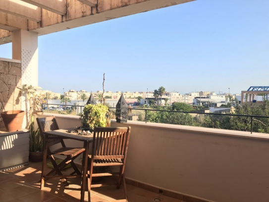 Lovely first floor duplex apartment is located in Can Cantó near ibiza