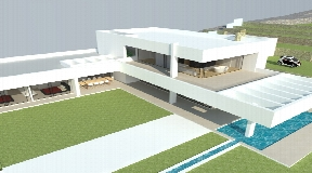 Land of 28,000m2 with a license for a house of 427m2 and a pool of 56m2