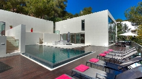 Nice villa is situated in the exclusive urbanization Can Furnet