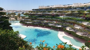Luxurious penthouse apartment for sale in Las Boas on Ibiza