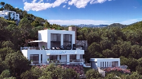 Newly build single family home located in the island of Ibiza