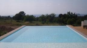 House in Cala Tarida with nice sea views