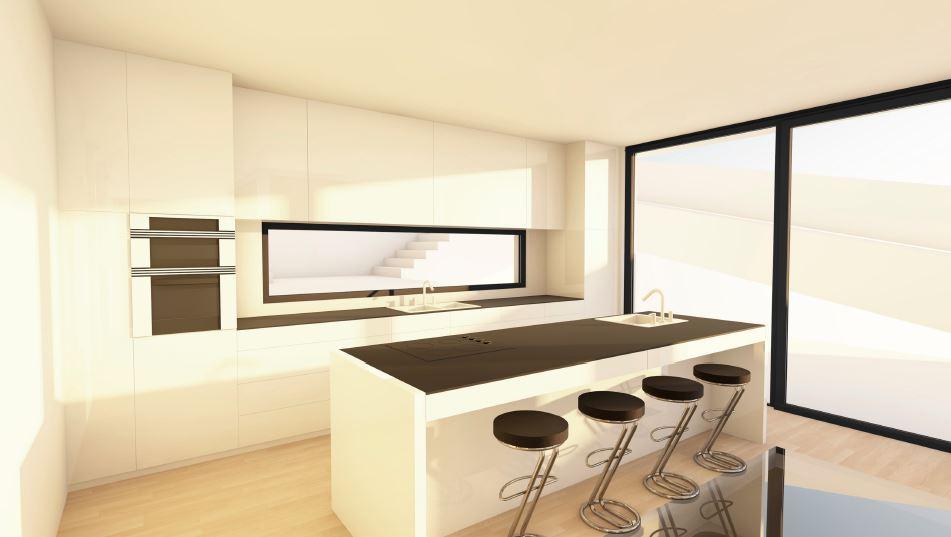 Newly modern build villa in Jesus