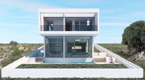 Newly modern build villa in Jesus