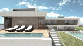 Luxury villa in Es Cubells Vista Alegre