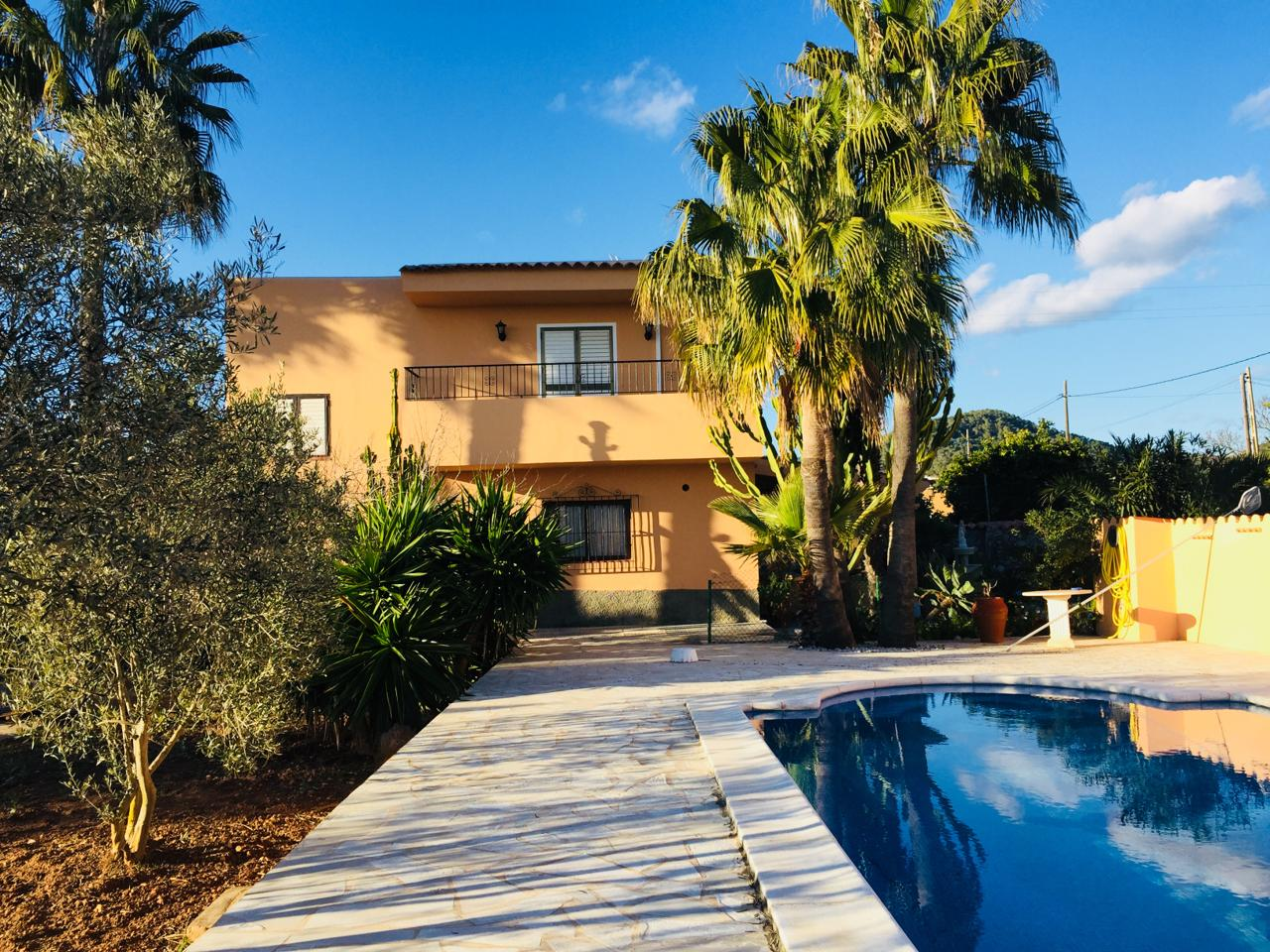 Spacious house in San Jose - close to Ibiza Town with nice sea and country views
