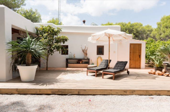 Finca style villa in a very good condition situated area San Carles -Ibiza
