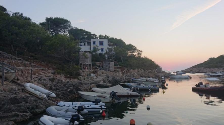 Frontline finca for sale in Portinatx Ibiza with direct sea access