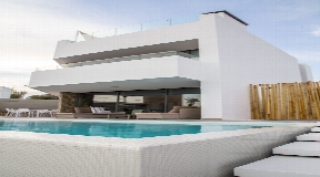 High quality luxury villa with views to the sea in Talamanca