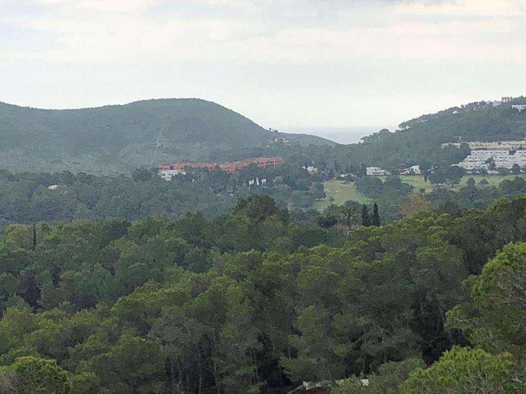 Amazing plot with project on the hillside of Can Furnet with panoramic views