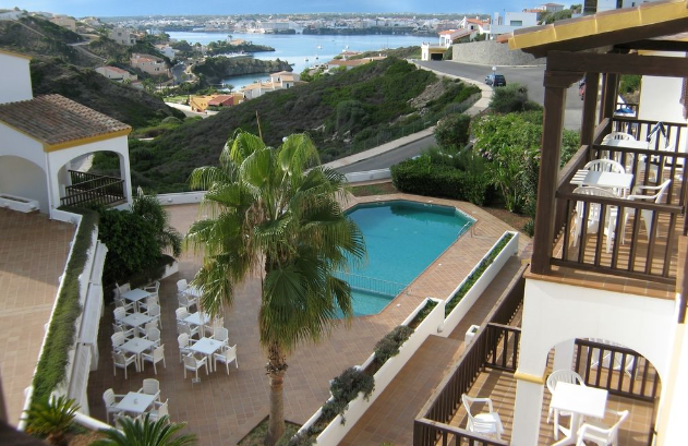 Aparthotel for sale with 4 star situated in a privileged area of Menorca