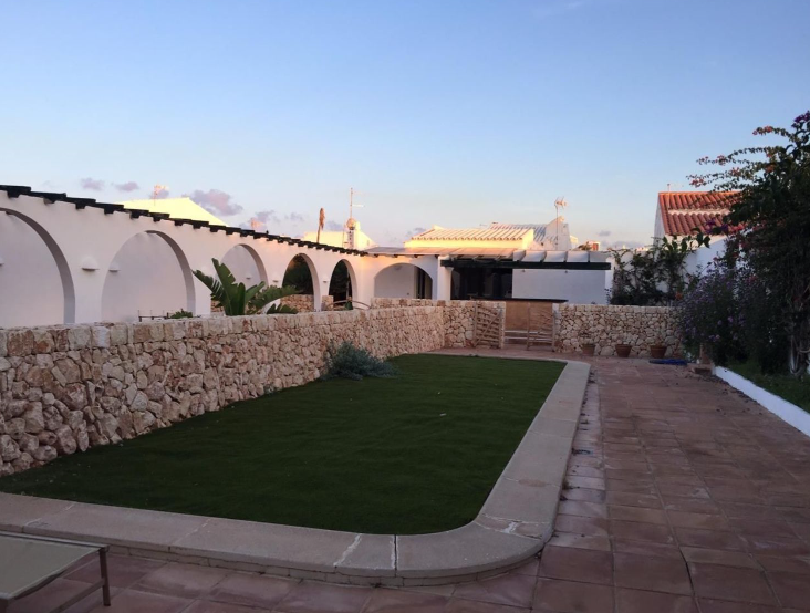 Hostal for sale in Menorca with sea views located in Fornells