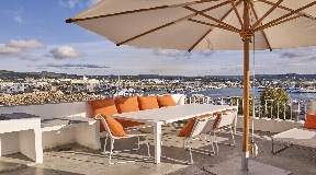 Sylish townhouse located at Pere Tur  in the old town of Ibiza