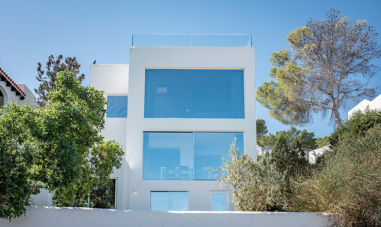Detached house for sale with fantastic sea views in Cala Vadella Ibiza