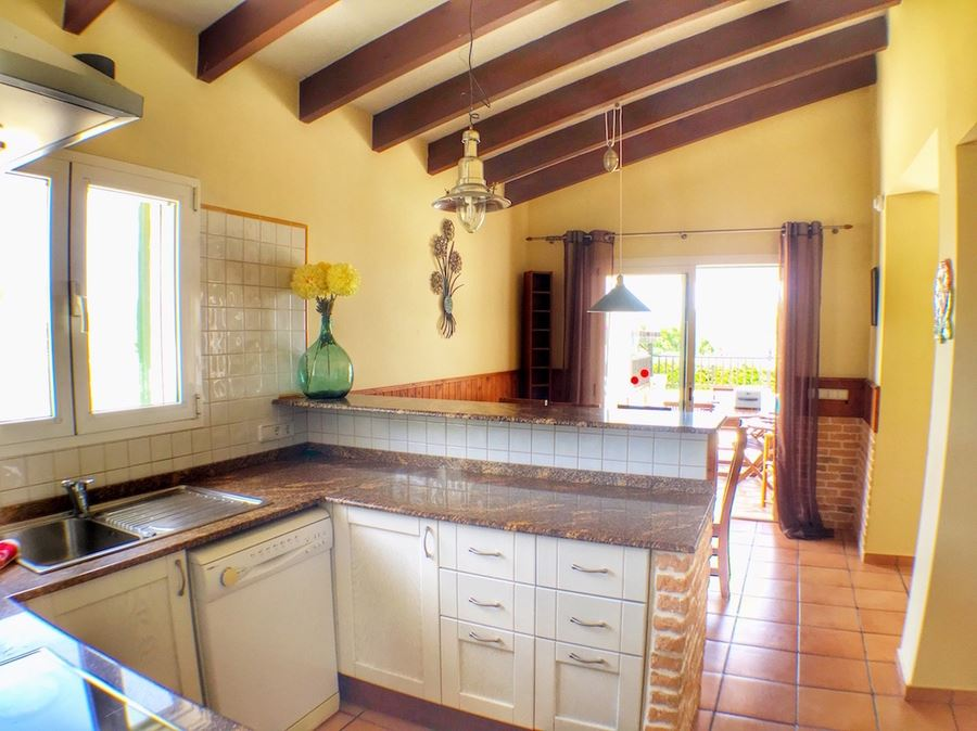 Beautiful 4 bedroom villa for sale on Menorca on the top of Binisafua
