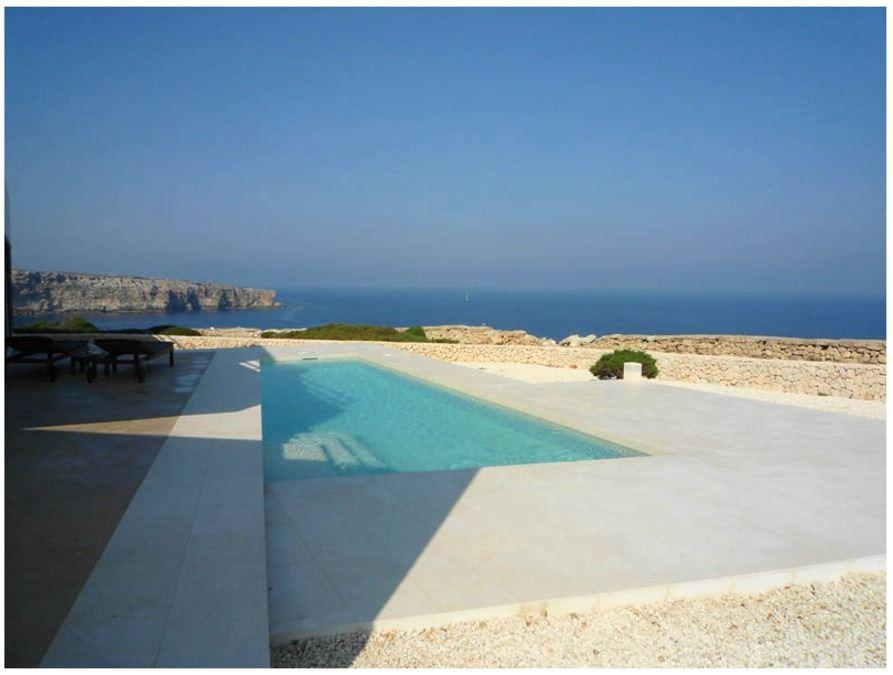 Villa of 290 sqm in Cala Morell near Ciutadella on the northwest coast of Menorca