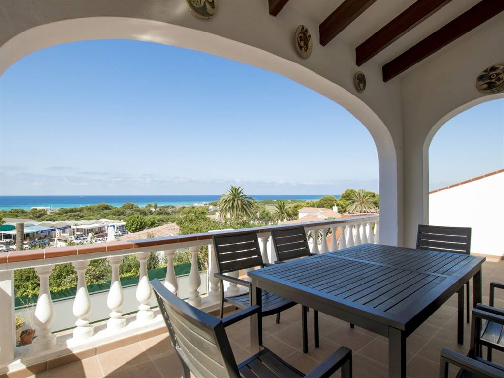 Large family villa in the tourist resort of Son Bou in south of Menorca