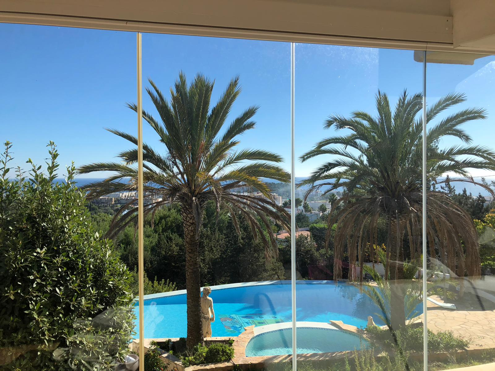 Villa with fantastic sea views walking distance to Santa Eulalia
