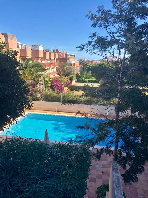 Reformed 4 bedroom apartment in Can Misses with views of Dalt Villa