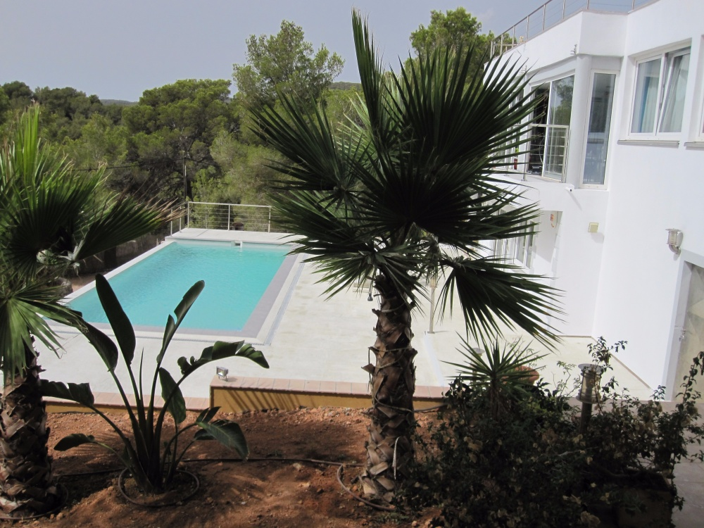 Lovely house for sale in Ibiza located close to San José with brilliant sea views