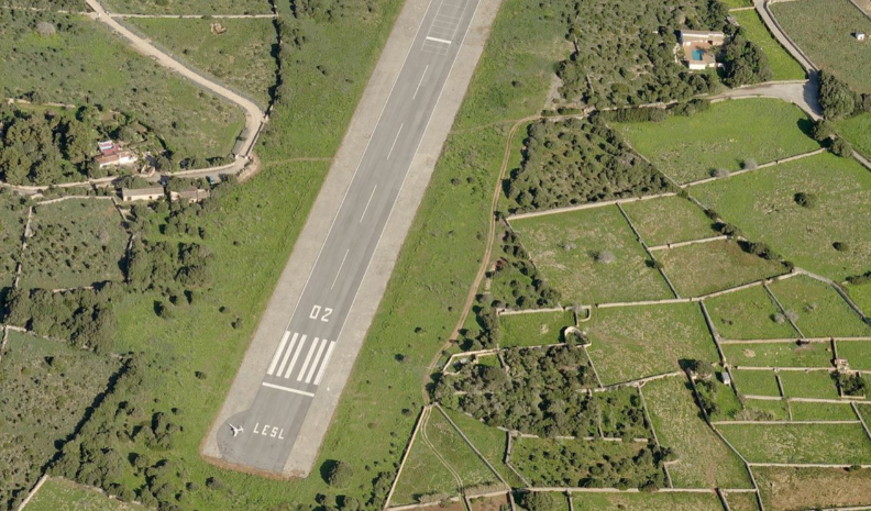 Privat airport for sale in Spain
