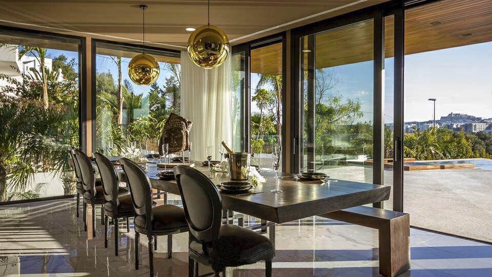 A very exclusive villa in Ibiza