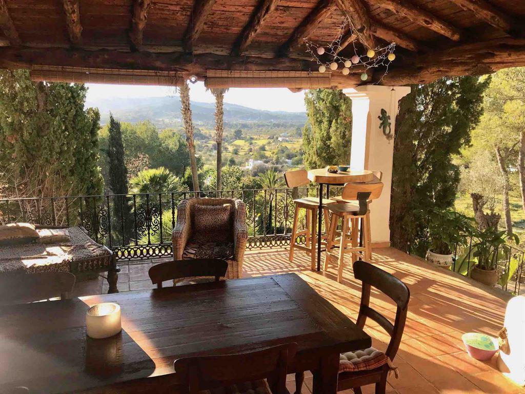 Nice Finca in Santa Eulalia with mature mediterranean gardens