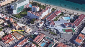 Urban plot on urban land in Playa den Bossa for 7 Apartments