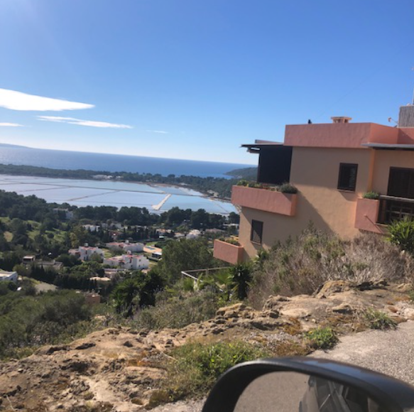 Urban plot for sale in Las Salinas with 1800m2 and fantastic views