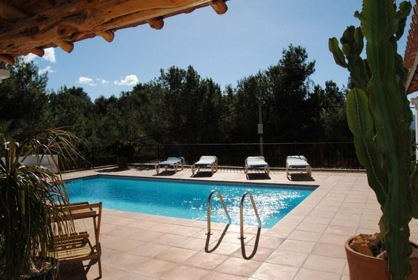 Traditional style villa located in Cala Salada with fantastic sea views