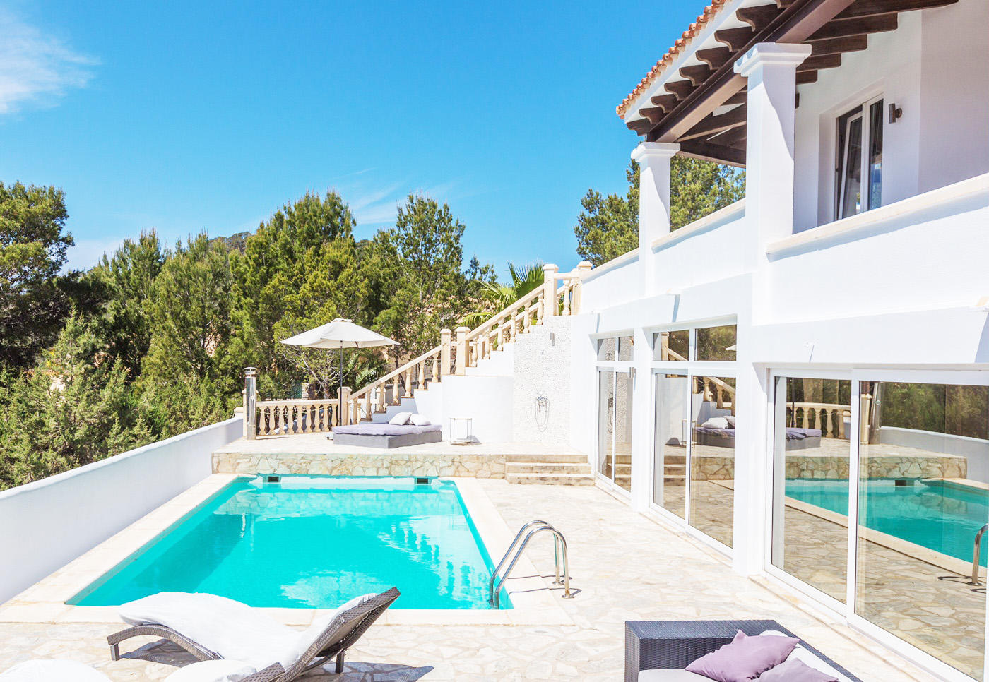 Villa in Cala Carbo with tourist license and fantastic views to Es Vedrá