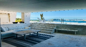 Nice apartment in Es Pouet with fantastic views to the sea and Ibiza