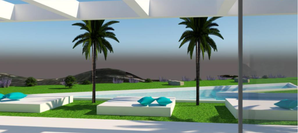 Land with licence in the best locations of Iiza with amazing views to Ibiza and Formentera