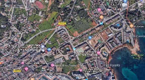 Land for sale in Santa Eulalia with 62 apartments each 105 m2