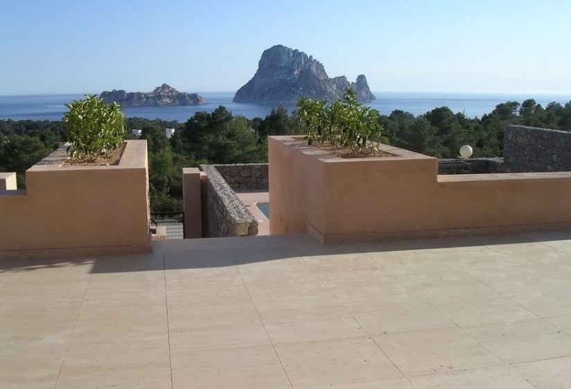 House located in the residence 'Vista Vedra' in Cala Carbó with fantasic views