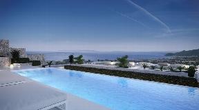 Luxury villa overlooking the Mediterranean and open views to Ibiza