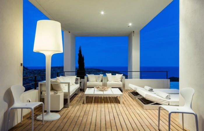 Modern contemporary design villa with stunning sea views in Roca Llisa