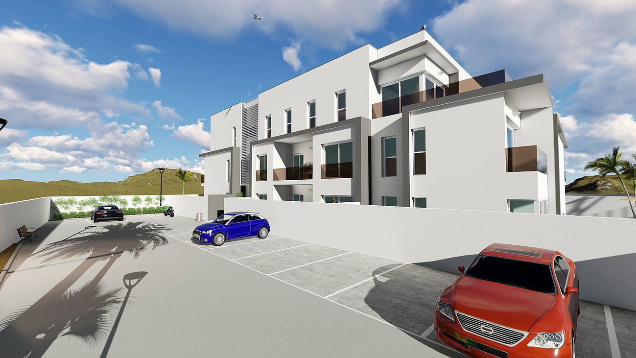 New built ground floor apartment in Jesus for sale