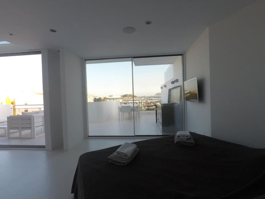 Luxury Penthouse in front of the Marina in Ibiza