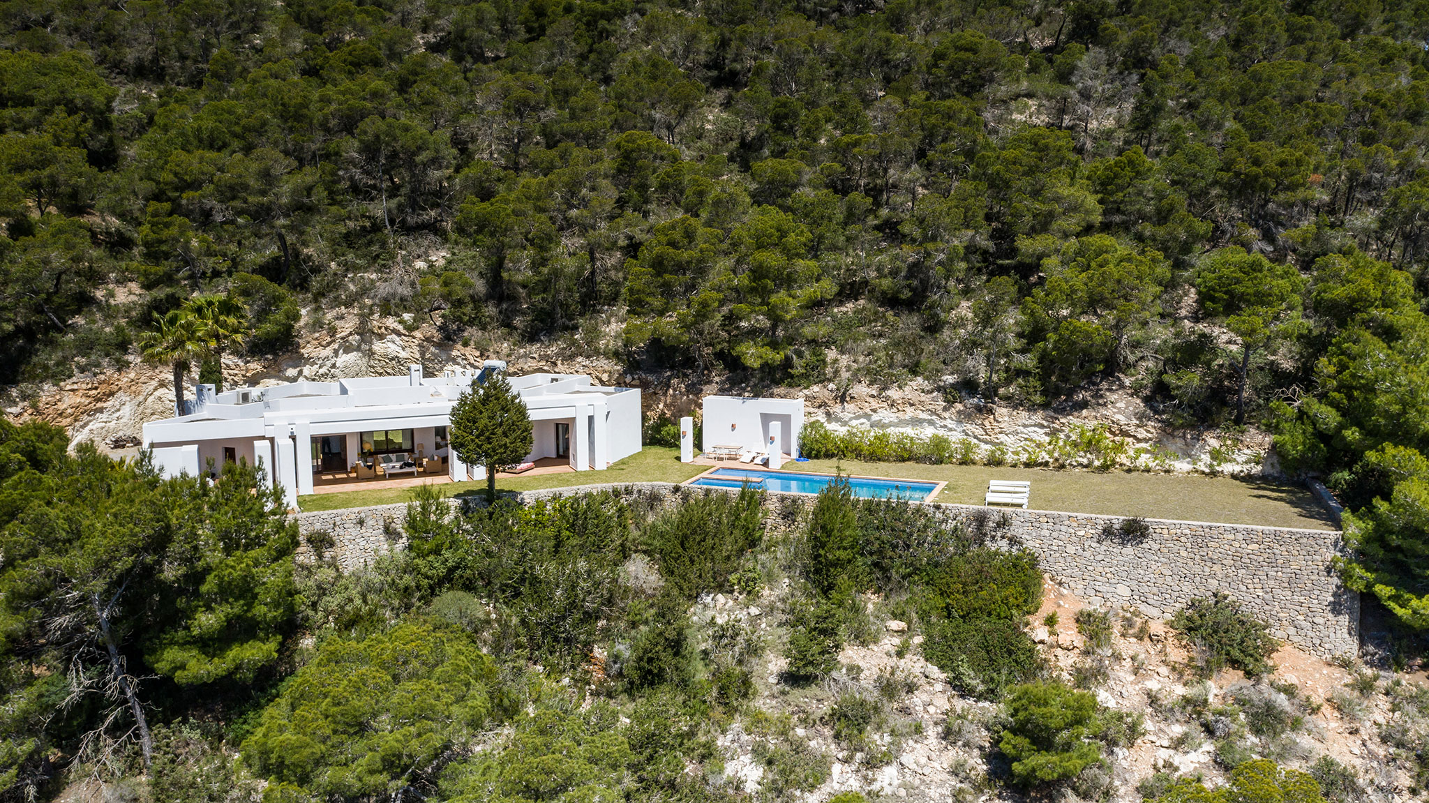Amazing villa located between Es Cubells with the best views on Ibiza