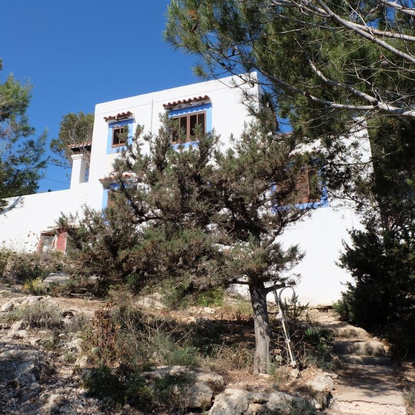 Superb frontline villa for sale in the north of the island, Ibiza