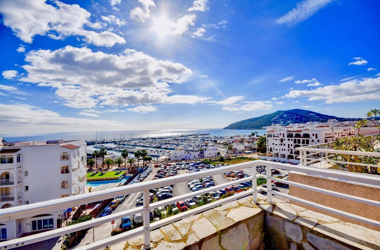 Wonderful Penthouse with amazing sea views for sale in Santa Eulalia