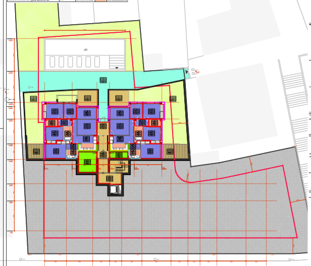 Land with license in Ibiza for 14 apartments and 27 parking spaces
