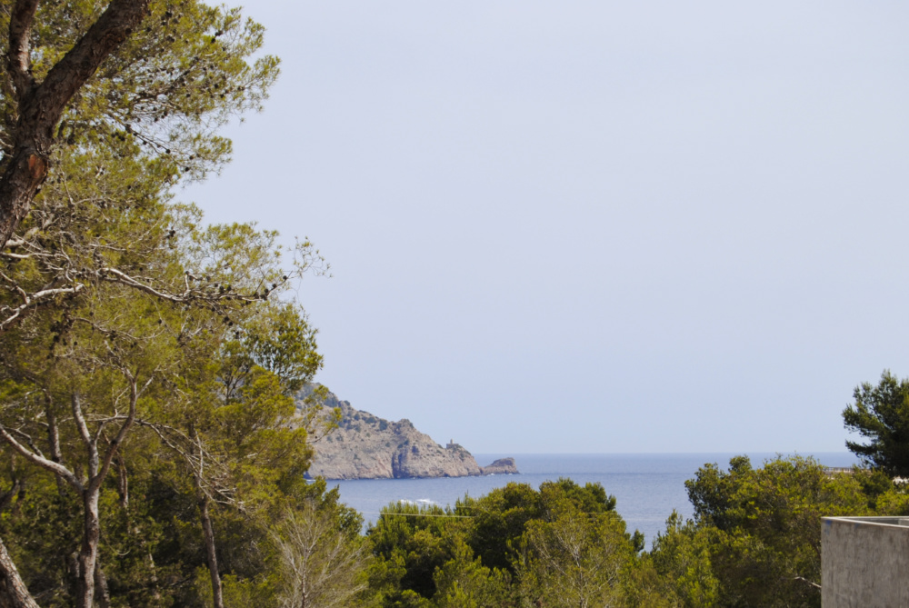 Urban plot with approved license with stunning sea views in San Carles close to the sea