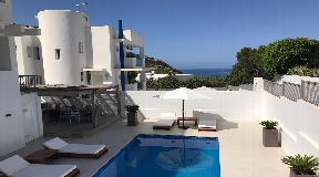 Nice house in Cala Vadella with sea views and walking distance to the beach