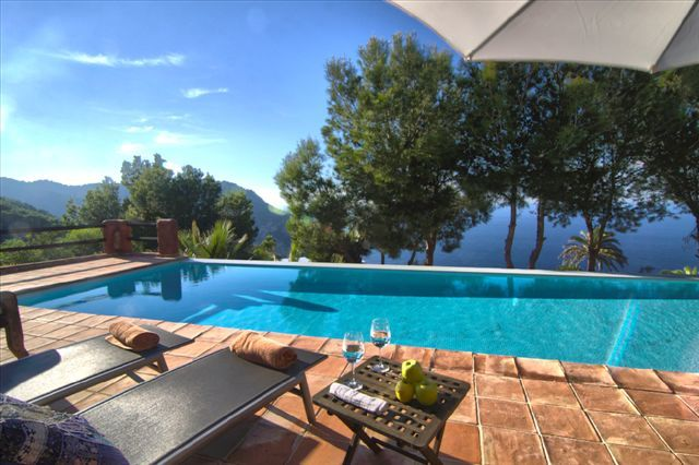 Fantastic Villa in Ibiza with great sea view and sunset in the north of the island